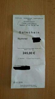Gutschein von Juwelier Sandkühler Heilbronn