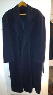 Herren-Mantel schwarz