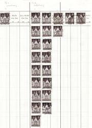 Frankfurter Römer auf Briefmarken von