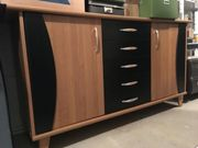 Modernes Sideboard, Rotholzfurnier,