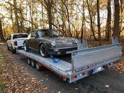 OLDTIMER Transport Überführung - Porsche Rolls