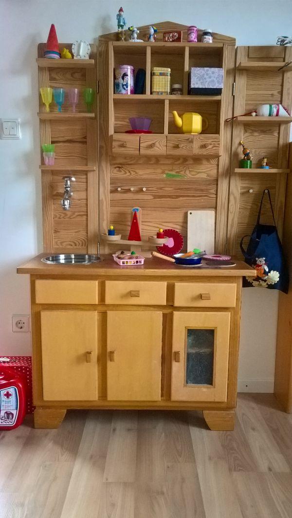 nostalgische Kinderspielküche in Freimersheim - Holzspielzeug kaufen ...