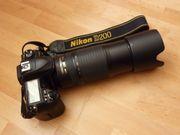 Zu Weihnachten Spiegelreflexcamera Nikon D200
