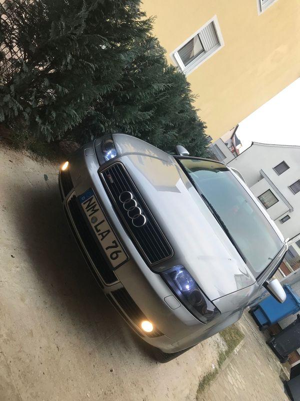 Audi A4 2. 5 TDI S-Line TÜV Neu - Neumarkt - Audi, A4, Kombi, Diesel, 120 kW, 264200 km, EZ 09/2003, Schaltgetriebe, Grau, Scheckheftgepflegt, Nichtraucherfahrzeug, Unfallfahrzeug. Hiermit Verkaufe ich meinen Audi A4 Model S4 S-Line er ist Scheckheft gepflegt Unfallfrei neuer TÜV wurde g - Neumarkt