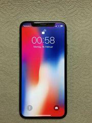 Apple iPhone X - 256GB - Silber