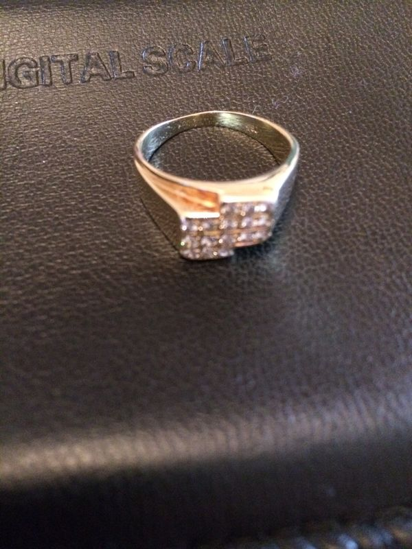 Ring Goldring Diamanten Gold 750 18karat Mit Brillianten