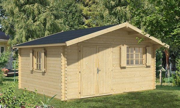 Holzfußboden Gartenhaus ~ Großes gartenhaus aus holz brest mit holzboden 18m² nutzfläche