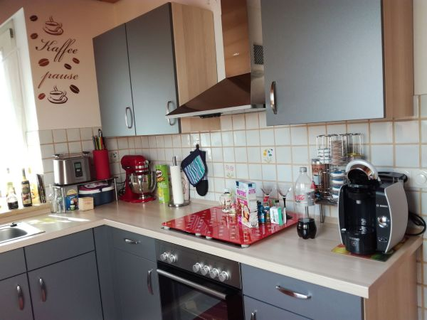 Miniküche Mit Kühlschrank Zubehör : Nobilia küche mit kühlschrank spülmaschine und herd in