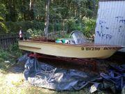 Motorboot Peetzsee Holz