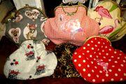 Taschen mit Bügelverschluss Handgearbeitete Einzelstücke