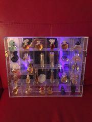Setzkasten Plexiglas mit Flacon- Miniaturen