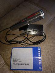 Mikrofon TD 60 mit Ständer