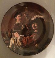 Kaiser Wandteller Sammelteller Rembrandt und