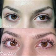 Wimpernwelle wimpernlifting