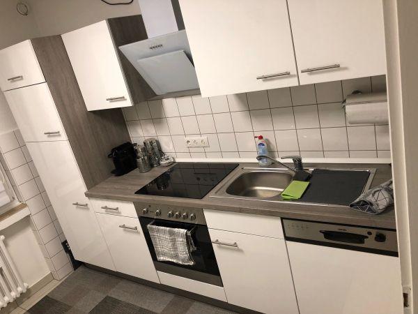 Neuwertige Kuche In Weiss Hochglanz In Koln Kuchenmobel Schranke