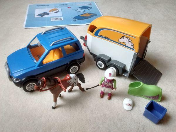 playmobil auto mit pferdeanh nger ankauf und verkauf anzeigen. Black Bedroom Furniture Sets. Home Design Ideas