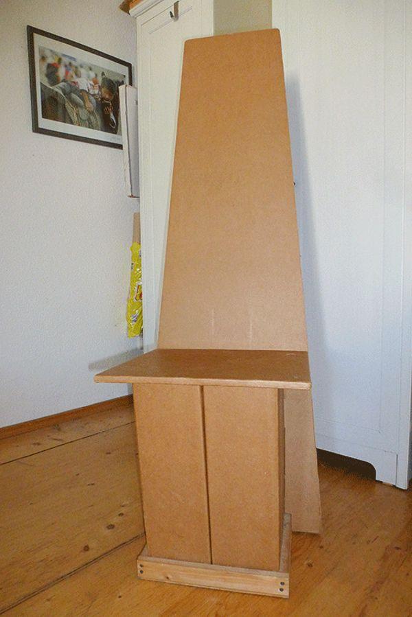 Sessel aus pappe interesting mbel bauen aus karton bombenfeste projekte fr kommoden sessel co - Stuhl aus pappe ...
