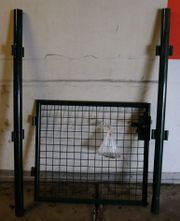 Gartentor Metall Gartentürchen Set Metalltor