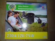 Verkaufe meine Akku-Kompressor luftpumpe