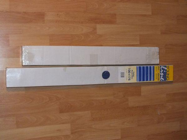 2 x PVC Jalousie (Royal Blau)(Neue) in Bensheim   Gardinen
