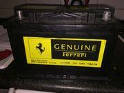Ferrari Autobatterie