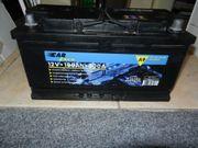 Autobatterie nahezu neuwertig 12Volt - 100Ah -