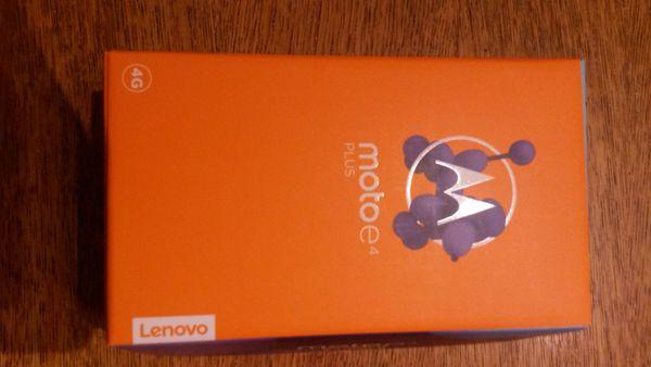 Motorola Motoe4 Plus