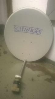 SAT-Schüssel von Schwaiger 4-fach LNB