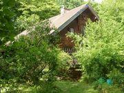 Möbl Zimmer in Bio-Holzhaus ab