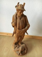Holzschnitzerei Jäger Zertifikat