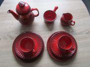 Frühstüch-Service rot von Jasba