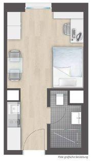 1 Zimmer- Appartement Neubau für