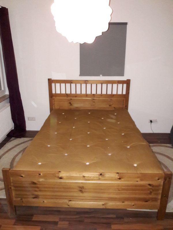 IKEA * Hemnes Bett 140 x 200 cm * antik gebeizt * aus Jahr 2005 in ...