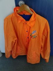 Regenjacke in orange (