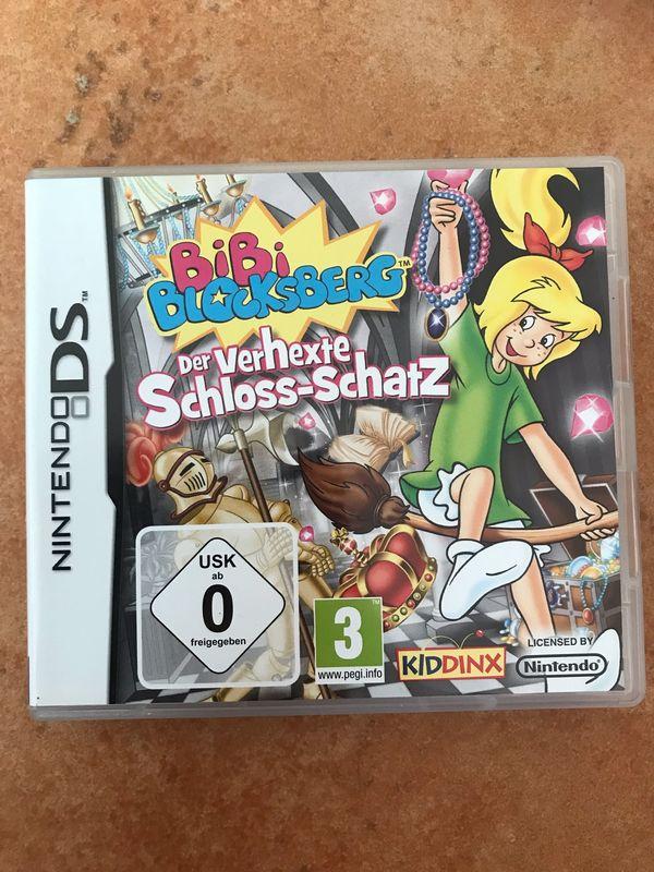 """Bibi Blocksberg Spiel für Nintendo DS - Mauer - Verkaufe voll funktionstüchtiges Spiel Bibi Blocksberg """"der verhexte Schloss-Schatz"""" für Nintendo DS. - Mauer"""