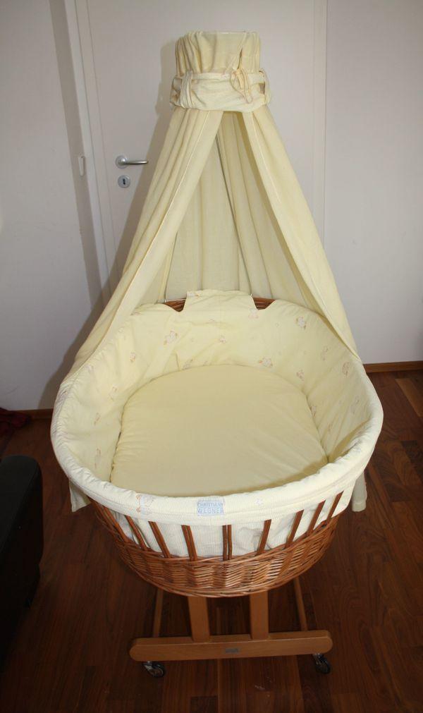 stubenwagen babywiege von christiane wegner gro e liegefl che in olching wiegen babybetten. Black Bedroom Furniture Sets. Home Design Ideas