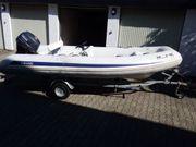Festrumpfschlauchboot Schlauchboot mit Außenbordmotor Yamaha