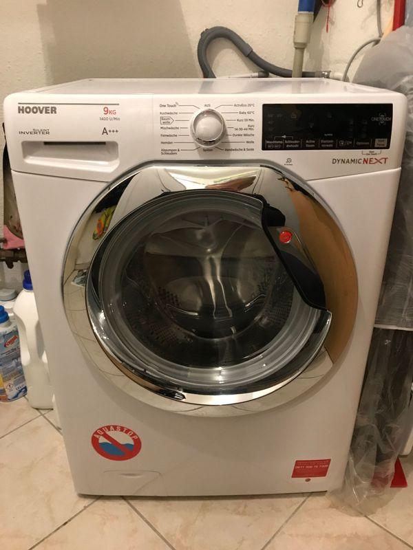 hoover waschmaschine 9kg dampf techn a 40 5 jahre garantie in rheine waschmaschinen. Black Bedroom Furniture Sets. Home Design Ideas