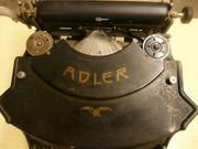 Schreibmaschine ADLER 15 Rarität