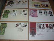 Briefmarken - Ersttagsbriefe