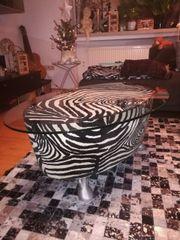 Bretz Couchtisch Zebra Mit Hufen