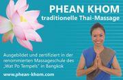 Massage 1h Thaimassage 45 EURO