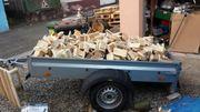 Brennholz Paletten trocken .