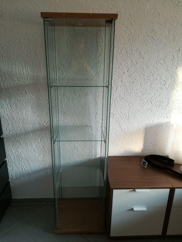 IKEA Detolf Vitrine Sonstige Wohnzimmereinrichtung