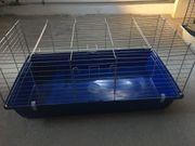 Kaninchen Meerschweinchenkäfig mit Heuraufe neuer