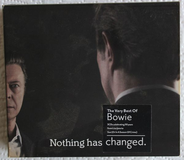 David Bowie 3-fach CD Nothing