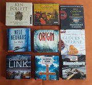 Bestseller 9 Hörbücher Hörbuchsammlung Krimis