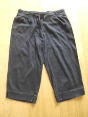 Capri Jogginghose Sweathose Sporthose schwarz