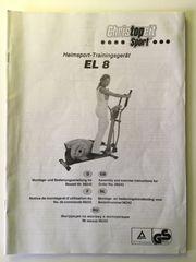 Crosstrainer Christopeit EL 8