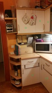 Küchenmöbel helle Buche